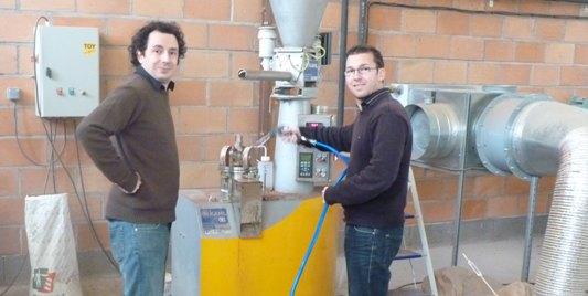 Des tests de granulation ont été effectués sur les différents coproduits agricoles - Frédéric Douard - bioénergie-promotion