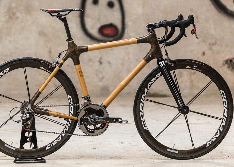 Chaque vélo est réalisé sur mesure, selon les caractéristiques demandés par le client - Photo In'bô