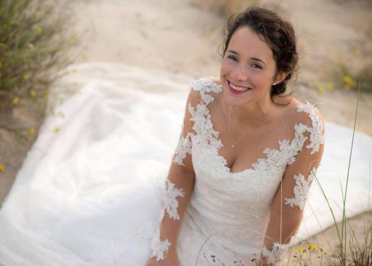 Amélie Brunelot associe Lin et dentelles pour ses robes de mariées - Photo VDN