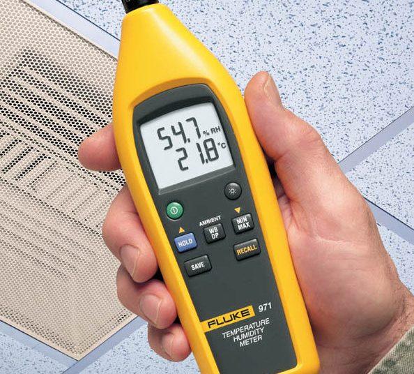 Un hygromètre permet une première mesure du taux d'humidité de l'air intérieur d'un logement Photo le blog déco